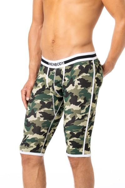 Men Body 3/4 lange Unterhose camouflage