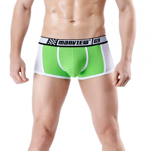 "Manview Shorts ""Race 69"" grün - Herren Boxer ""Race69"""