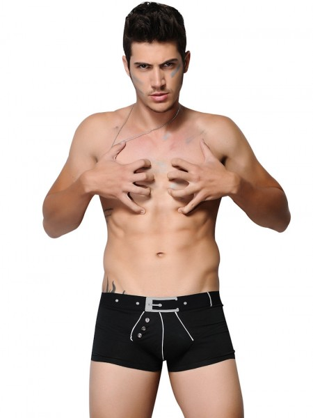 Xuba Shorts für Herren Baumwolle in schwarz
