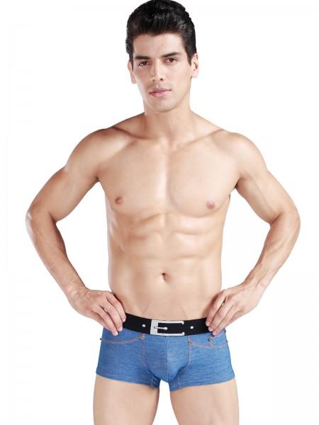 Xuba Shorts für Herren Baumwolle in jeans