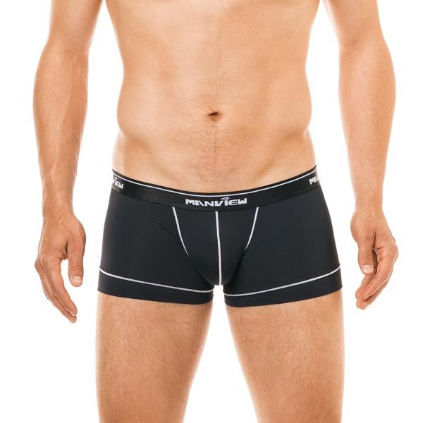 Manview Herren Boxer Shorts black