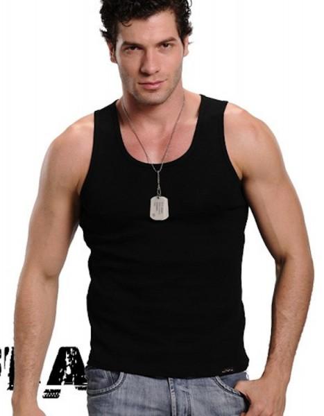 Xuba Tank Top Baumwolle in schwarz
