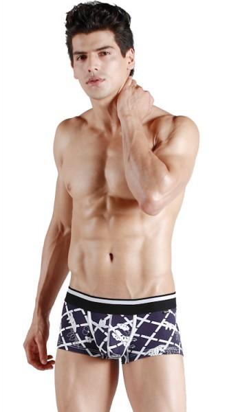 Xuba Shorts für Herren Baumwolle in schwarz XB1011237-17