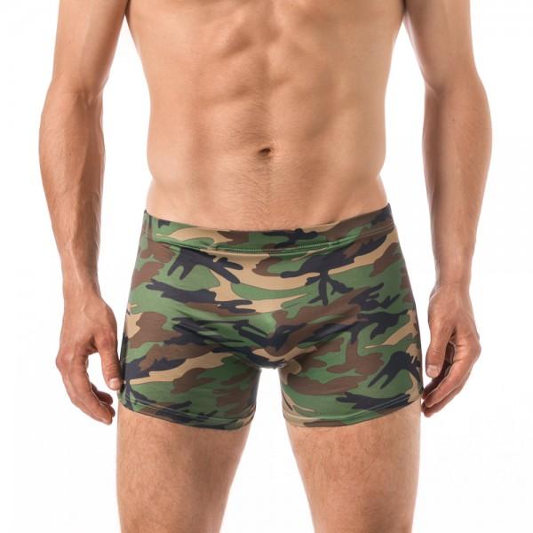 Xuba Herren Shorts / Badehose Viskose camouflage